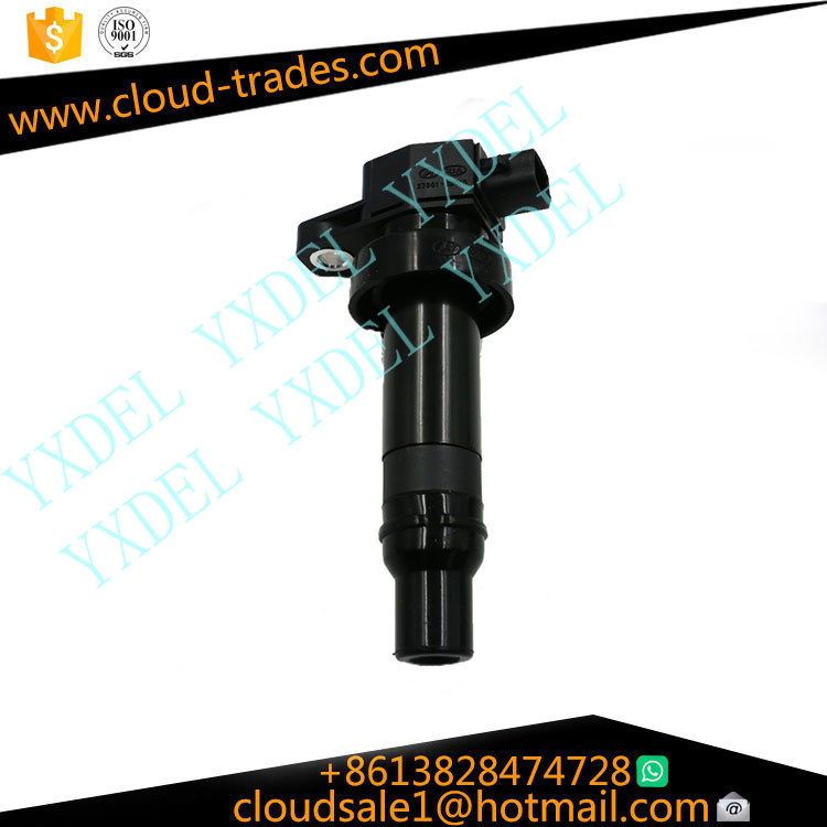 Auto car real ignition coil pack 27301-2b010 for hyundai denso