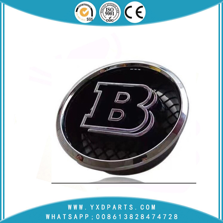 75MM ABS car logo cover black wheel center cap B For BENZ
