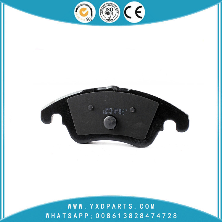car Rotor Disc Truck Brake Pads oem GDB1737 for MERCEDES-BENZ